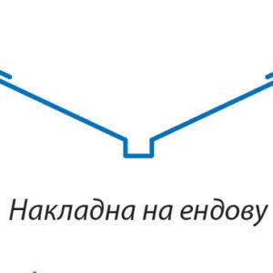 Накладка на ендову